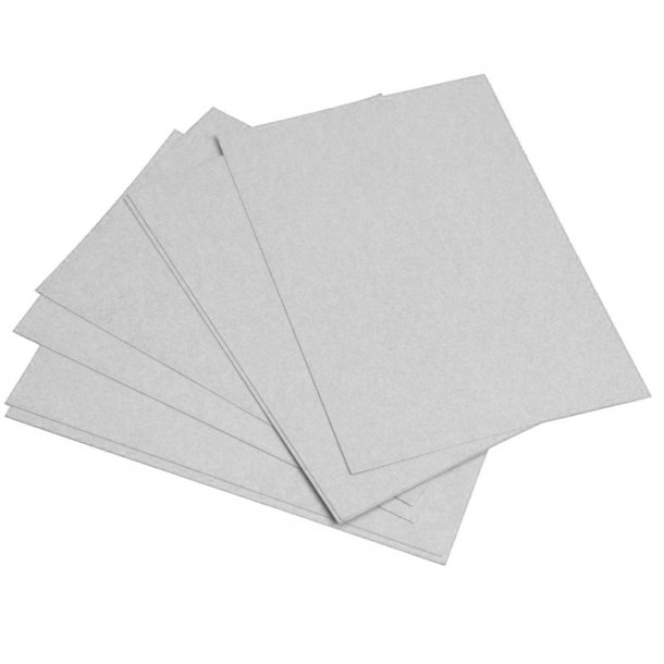 Bundmåtter i papir uden tryk, 400 stk