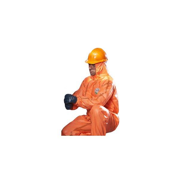 Beskyttelsesdragt, orange - str. XL